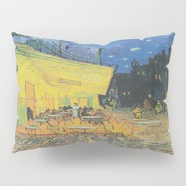 Vincent can Gogh's Cafe Terrace at Night Pillow Sham