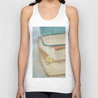 read Tank Tops featuring Read by Debbie Wibowo