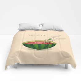 Watermelon Toki Comforters
