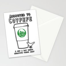 Addicted to Covfefe Stationery Cards