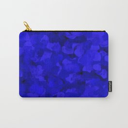 Rich Cobalt Blue Abstract Carry-All Pouch