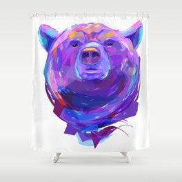 Grizzly bear (Animal set) Shower Curtain