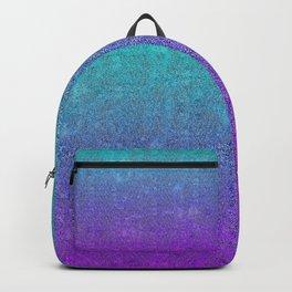 Tropical Twilight Glitter Gradient Backpack