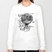 fear and loathing Long Sleeve T-shirts featuring Fear & Loathing by Saravo Studio