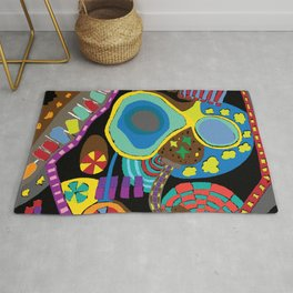 Childish Landscape Rug