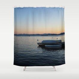 Burlington, Vermont Vibes Shower Curtain