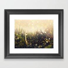 Hidden in the Magic Garden Framed Art Print