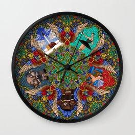 My Beautiful Dark Twisted Fantasy Mandala Wall Clock