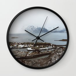 Skrova II Wall Clock