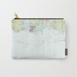 MS Biloxi 337193 1982 topographic map Carry-All Pouch