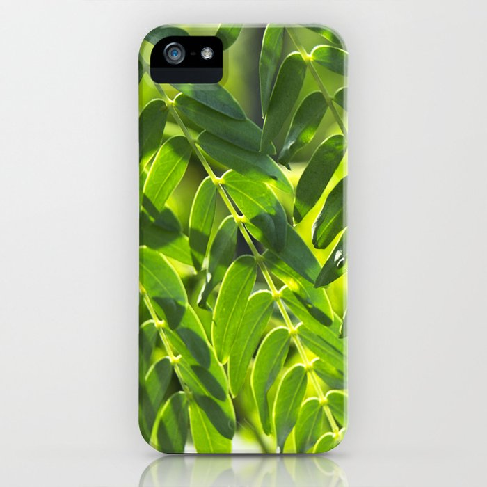 Sunny Leaves iPhone Case