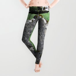 Leaning Headstone Leggings