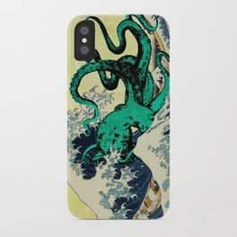 Great Octo-Wave iPhone Case