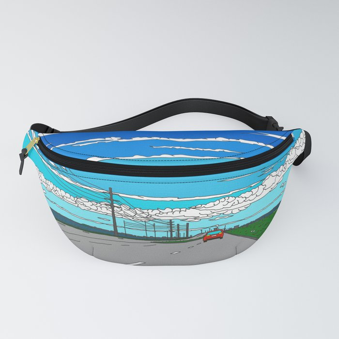 Road to Cape Canaveral Fanny Pack