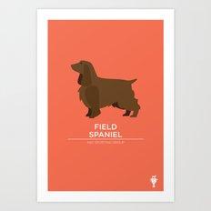 Field Spaniel Art Print