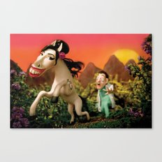 Amy Wildhorse Canvas Print