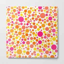 Colorful Bubble Party 1 Metal Print
