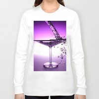 martini Long Sleeve T-shirts featuring Martini by Littlebell
