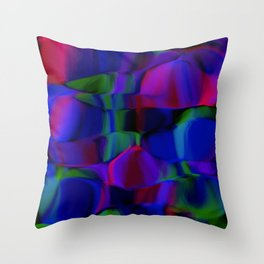 shivering forms Throw Pillow