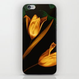 Tulips of the golden age iPhone Skin