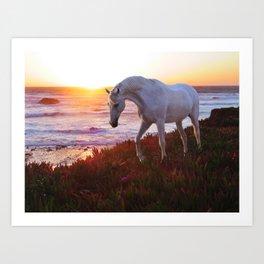 Coastal Fantasy Art Print