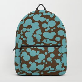 Bubbles in the Batter - Chocolate-Blue Backpack