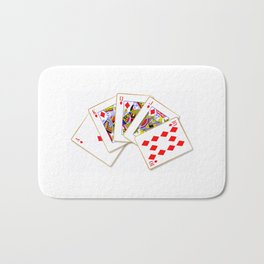 Royal Flush Bath Mat