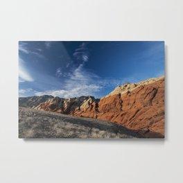 Red Rock Canyon, LasVegas, Nevada Metal Print