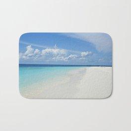 The Maldives' Blue Bath Mat