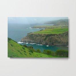 Coastal landscape Metal Print