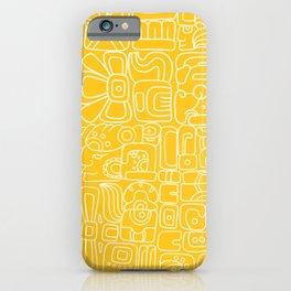 Mayan Lorem Ipsum iPhone Case