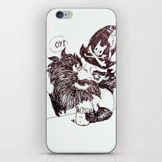 Blackbeard iPhone & iPod Skin
