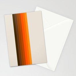 Retro Golden Rainbow - Straight Stationery Cards