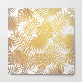 Stay Golden Metal Print