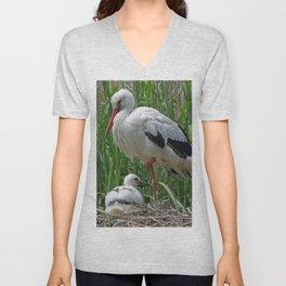 Stork_2015_0101 Unisex V-Neck