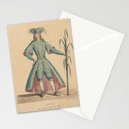 Delpech Francois Seraphin Laval dans le personnage dun FleuveAdditional Costumes de theatre de a Stationery Cards