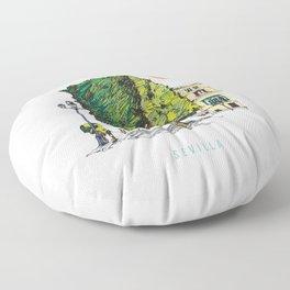 Sevilla 2 Floor Pillow