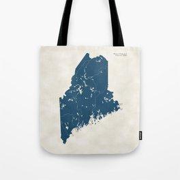 Maine Parks - v2 Tote Bag