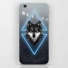 Jack Wolf iPhone & iPod Skin