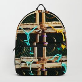 Square Lobster Traps Backpack