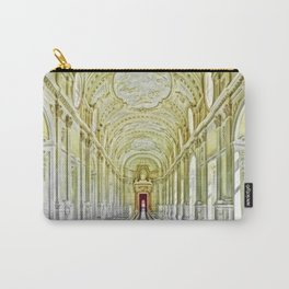 Gallery of Diana, Royal Palace of Venaria Reale, Turin Italy Portrait Painting by Jeanpaul Ferro Carry-All Pouch