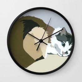 Colbert gray Wall Clock