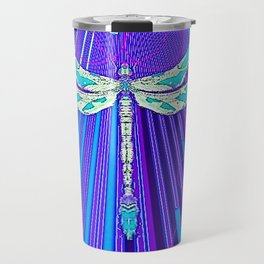 Electric Charged Zinger Dragonfly  Travel Mug