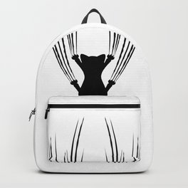 Cat Scratching Backpack