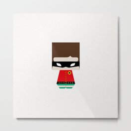 THE ROBIN Metal Print