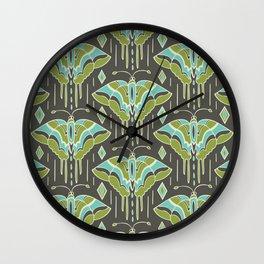 La maison des papillons Wall Clock