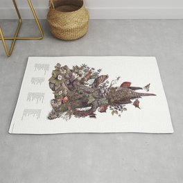 Stump (with labels) Rug