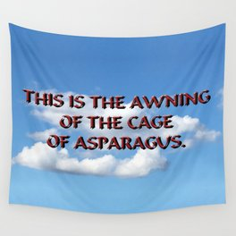 Cage of Asparagus Wall Tapestry