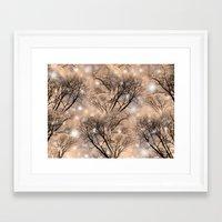 fairies Framed Art Prints featuring Fairies  by MinaSparklina