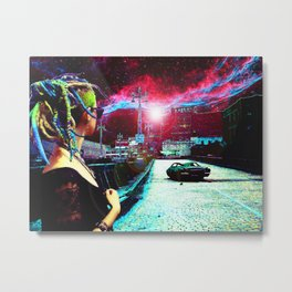 Hello From the Other Side Metal Print